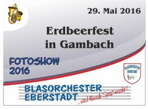 Erdbeerfest Gambach 2016