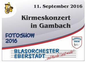 Kirmeskonzert Gambach 2016