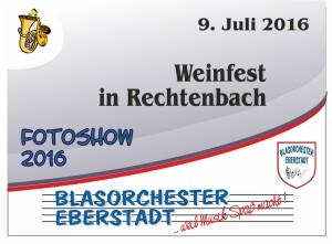 Weinfest Rechtenbach 2016